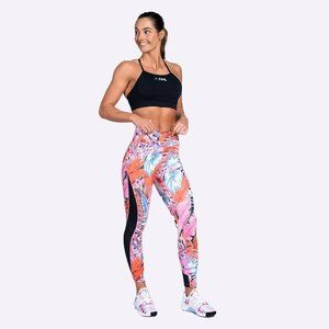 NIKE ONE PRINTED 7/8 TRAINING TIGHTS Tropically